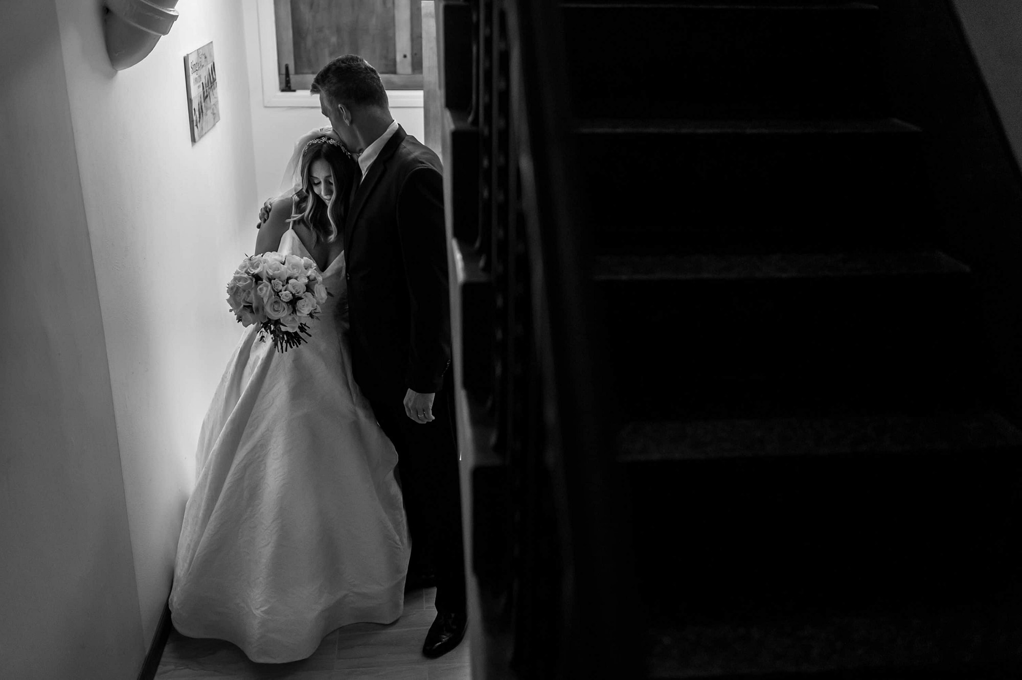 Bride gets ready during a Blessed Sacrament Denver wedding in Colorado.